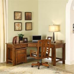 Picture of Craftsman Home Corner Desk