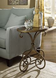 Picture of HIDDEN TREASURES  Oval Accent Table