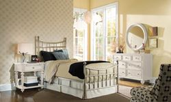 Picture of Camden Light Brushed Nickel Bed