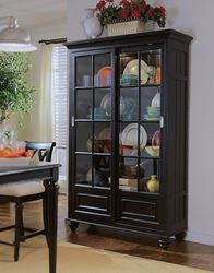 Picture of Camden Dark Bookcase - China with KD feet