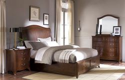 Picture of Cherry Grove Panel Bed with Storage