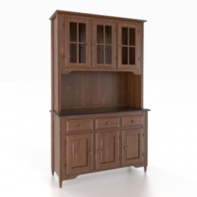 Picture of 4800 Spice Washed Buffet w/ 4875 Ebony Washed Buffet