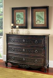 Picture of Hand Painted Accent Drawer Chest