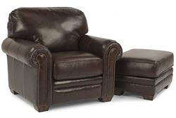 Picture of Harrison Leather Chair & Ottoman